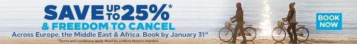 Hilton Winter offer Save 25